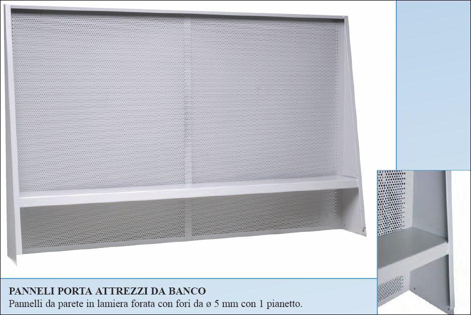Accessori tavoli officina maxder group srl - Porta attrezzi da parete ...