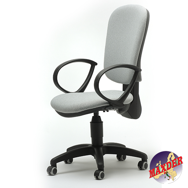 Sedia Operativa Con Braccioli.Office Chair With Castors Maxder Com